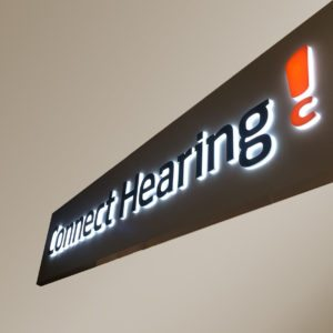 Commercial Signage - Commercial Branding - Signtek NSW - Connect Hearing